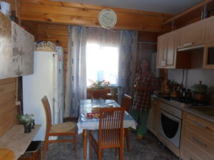 Маленький дом и его кухня