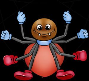 Веселый паук