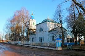 Церковь, где служил отец Г. Саблукова