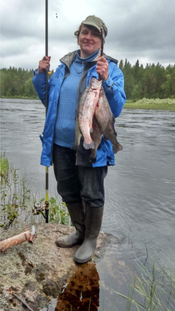 Поймать рыбу в Карелии - не проблема